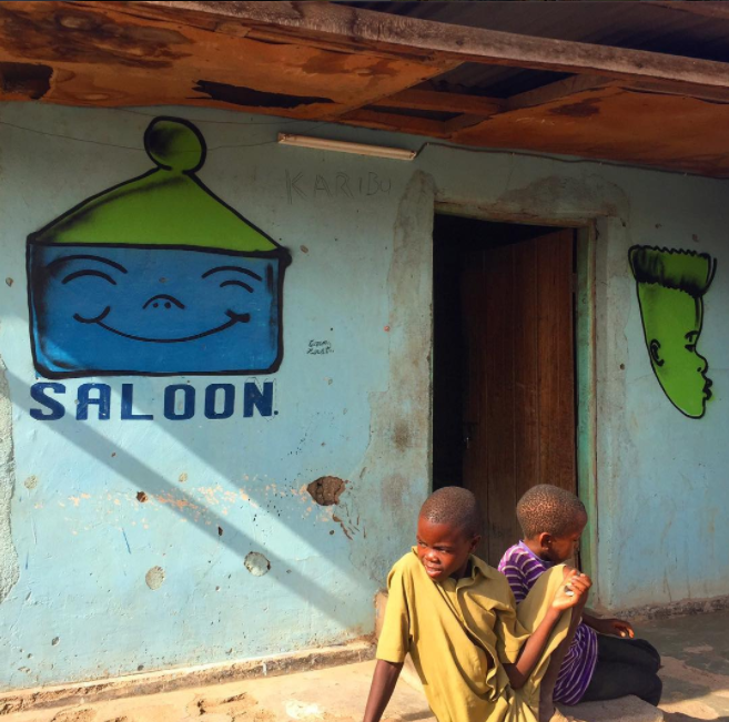 David Choe Barbershop/Saloon - Mangola, Manyara, Tanzania