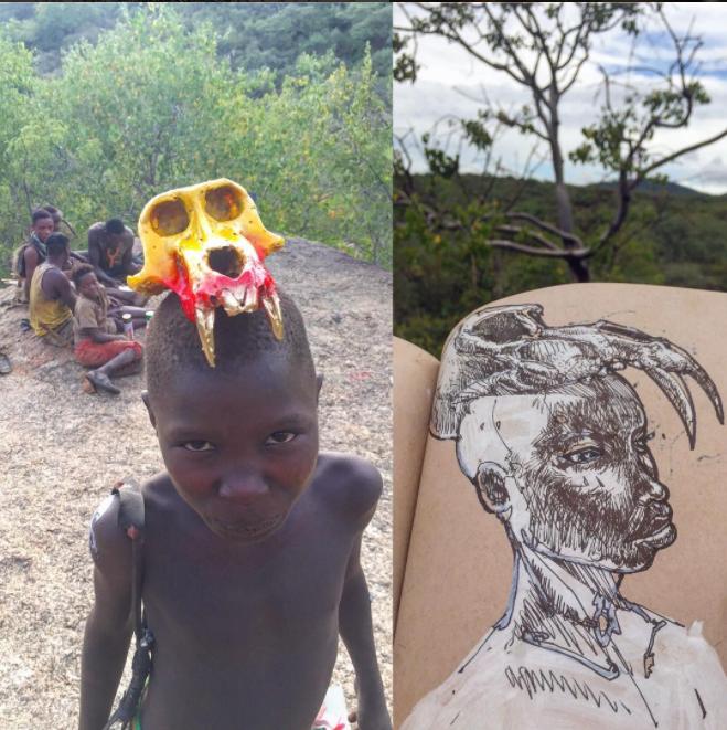 David Choe Baboon Boyz - Mangola, Manyara, Tanzania