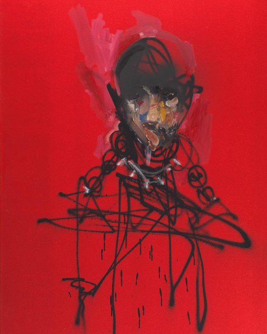 David Choe red man