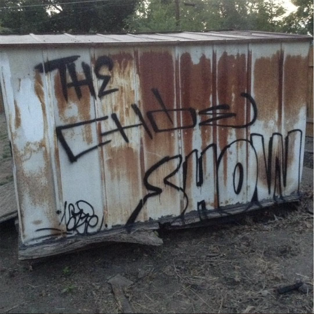 The Chow Show graffiti by @mu13te