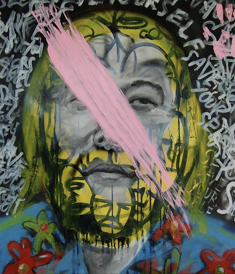David Choe - Choe Show Portrait