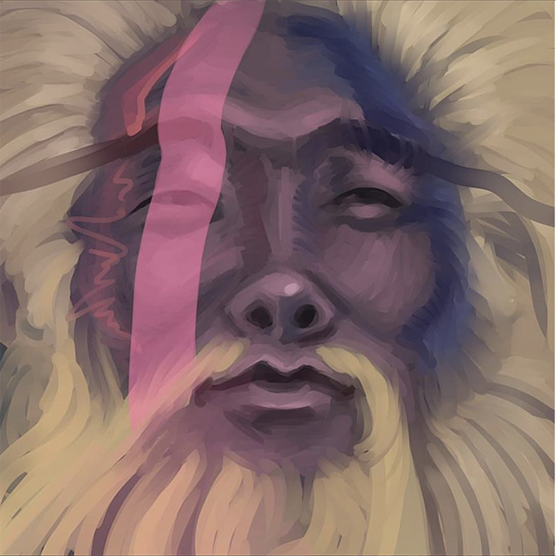 Choe Show Digital Portrait