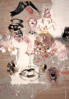 David Choe Frice Show 2006 artwork