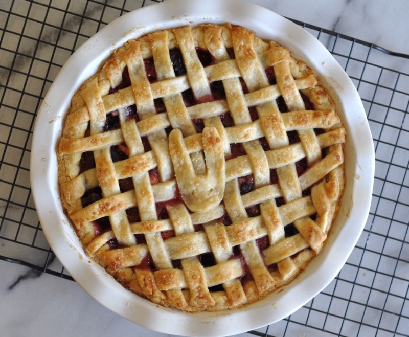 Mixed Berry Pie - 7