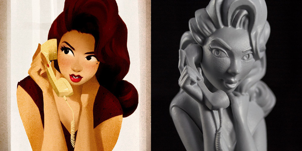 2D artwork by  Daniel Arriaga