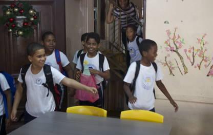 Classroom Makeover at Tia Tatiana School in the Dominican Republic
