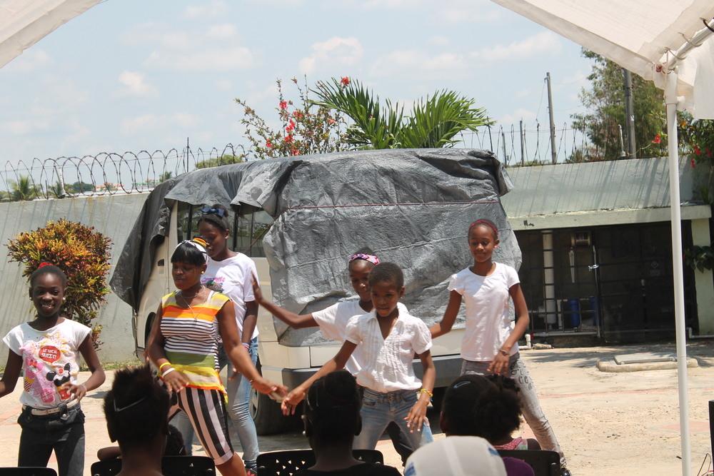 Remar Orphanage Girls Dancing