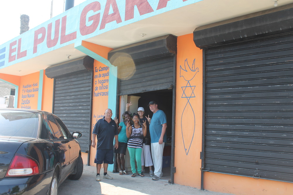 outside the remar orphanage store