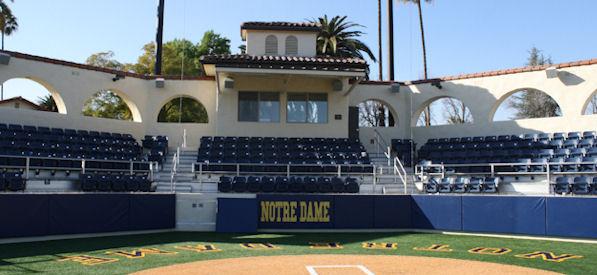 Notre Dame high school marines memorial stadium