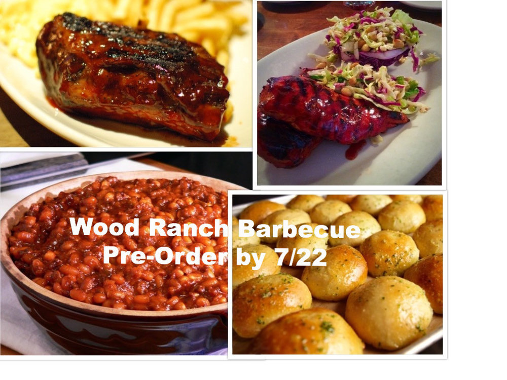 WOOD RANCH - ADULT ORDER $25  YOUTH ORDER (12 AND UNDER) $15