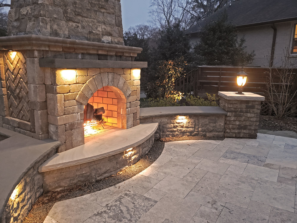 Outdoor Fireplace in Rock Hill SC