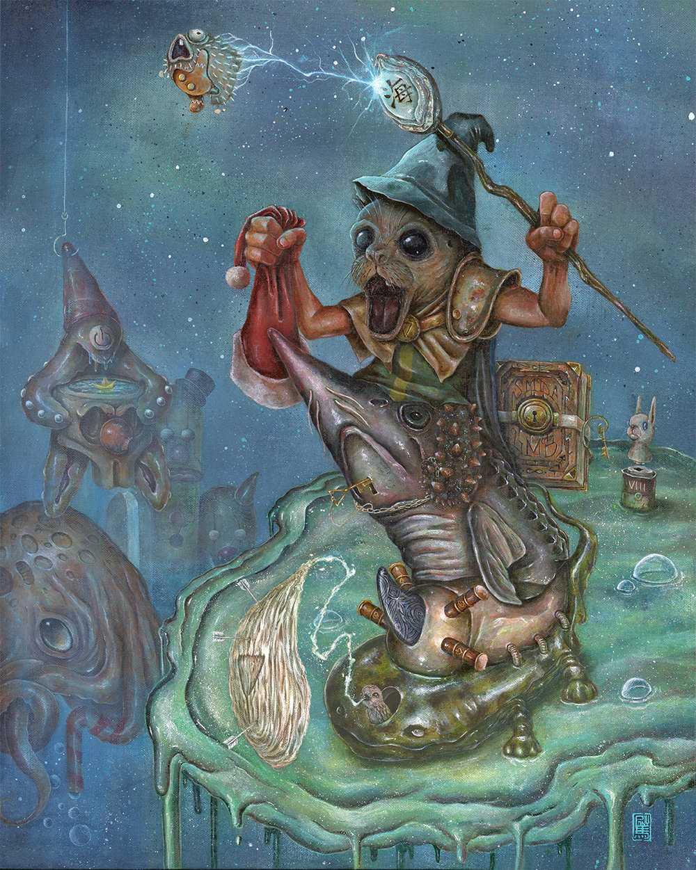 Sea Bazhen, the wizard