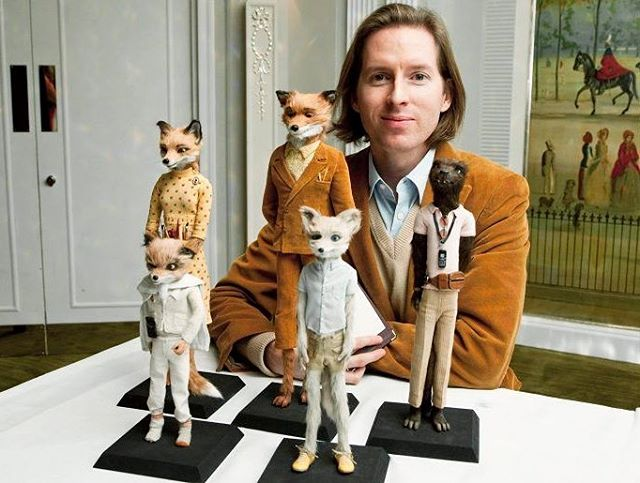 """Our FRIDAY FILM CLUB's pick this month is Wes Anderson's """"Fantastic Mr. Fox"""" (2009). We just saw his latest stop motion flick, """"Isle of Dogs"""" and totally fell in love. Join us this Friday 4/13 at 8pm. ✨🦊✨"""