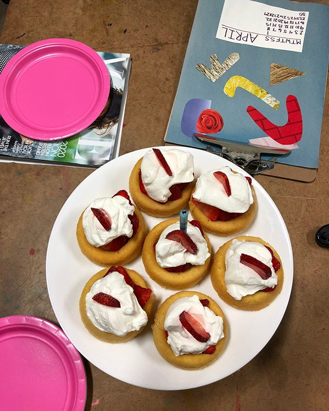 April is over! Gah. Time is flying. Hope to see you guys at May's BYOC 5/30. #byocnite (ps thanks for the strawberry shortcake with homemade whipped cream @val3000!)