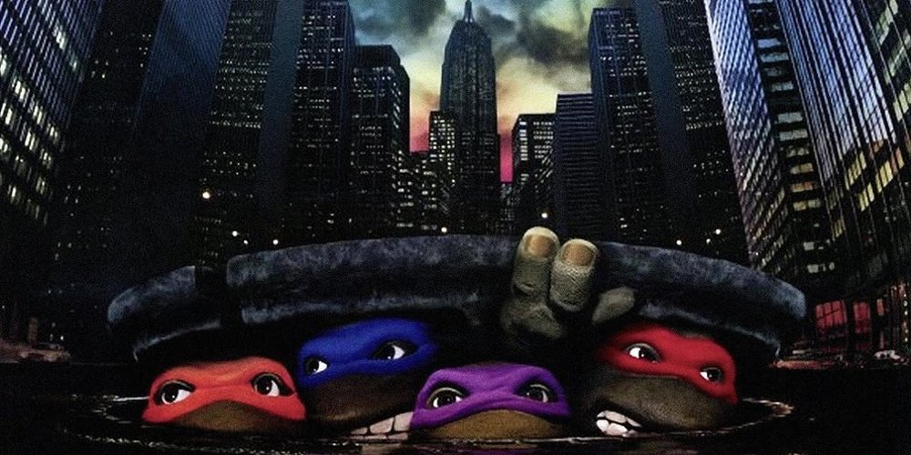 ACTION - Teenage Mutant Ninja Turtles (1990)