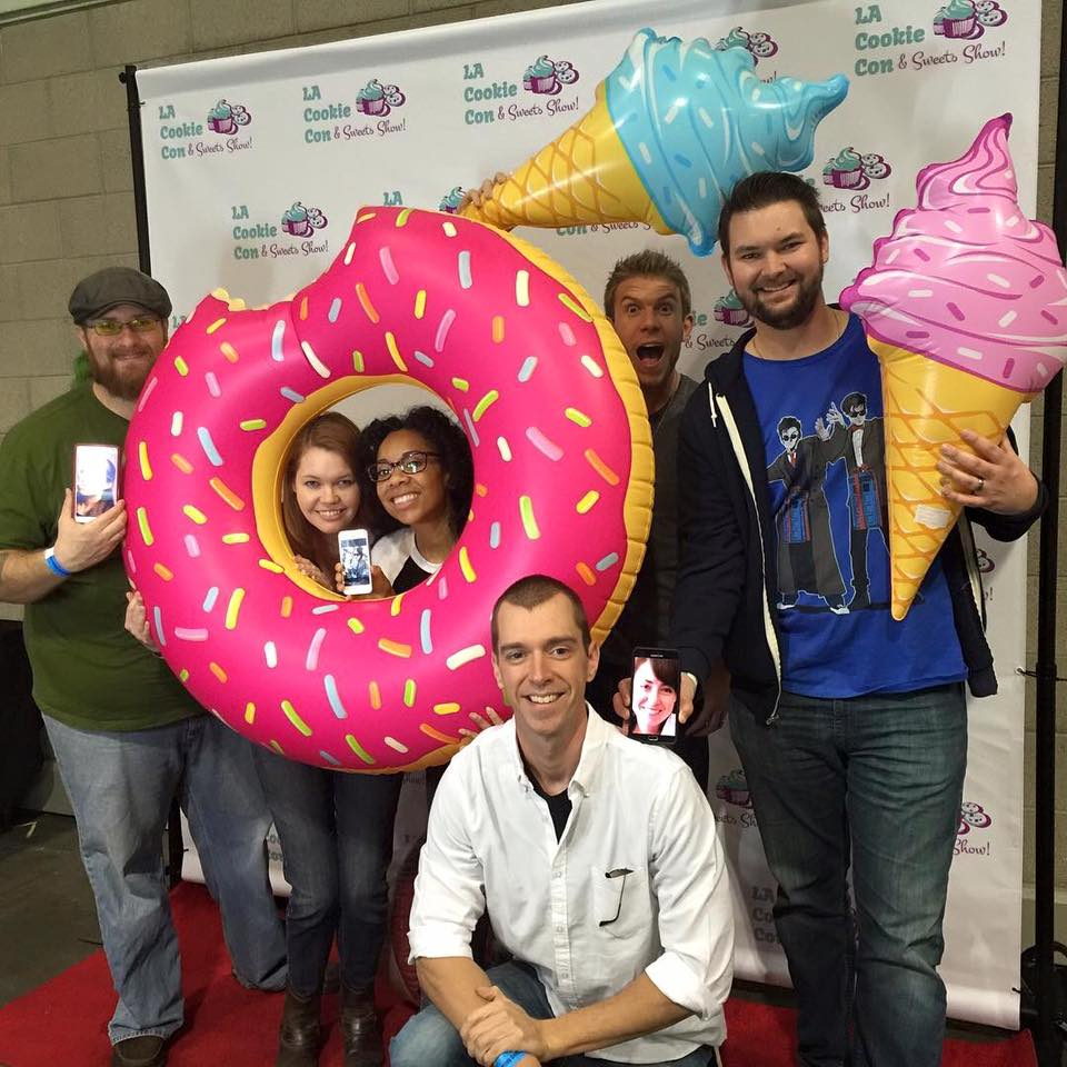 Fun at LA Cookie Con!