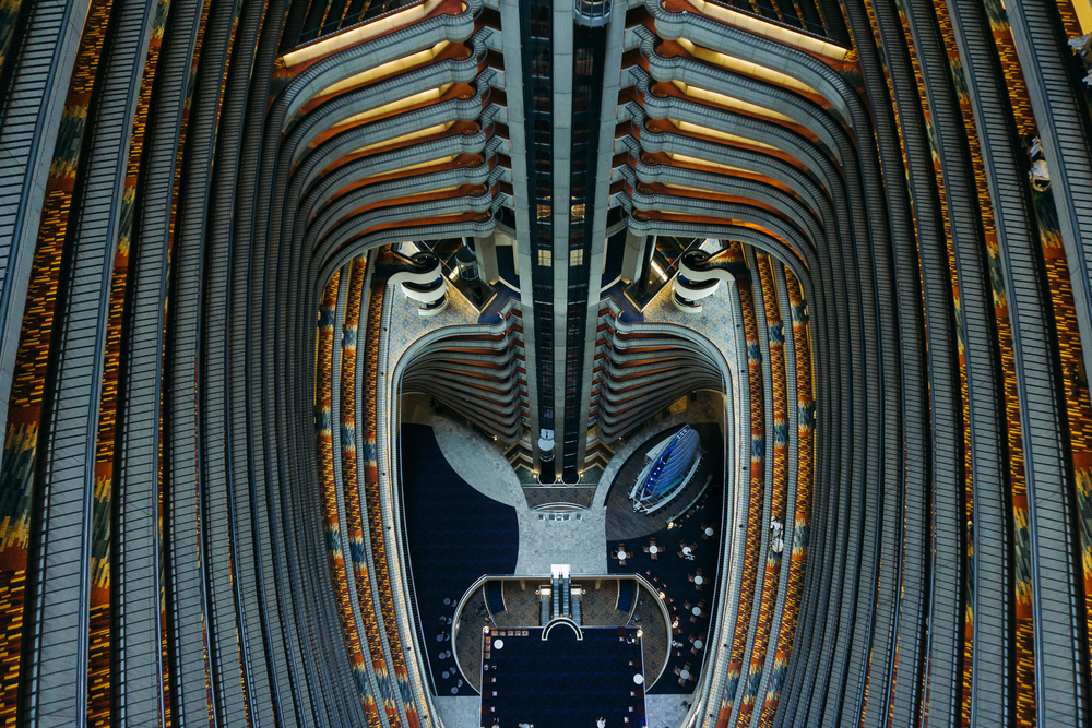 Personal work shot at the  Marriott Marquis , in Atlanta, GA.