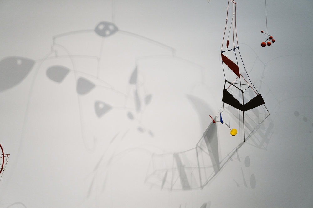 More Calder than you can shake a stick at.