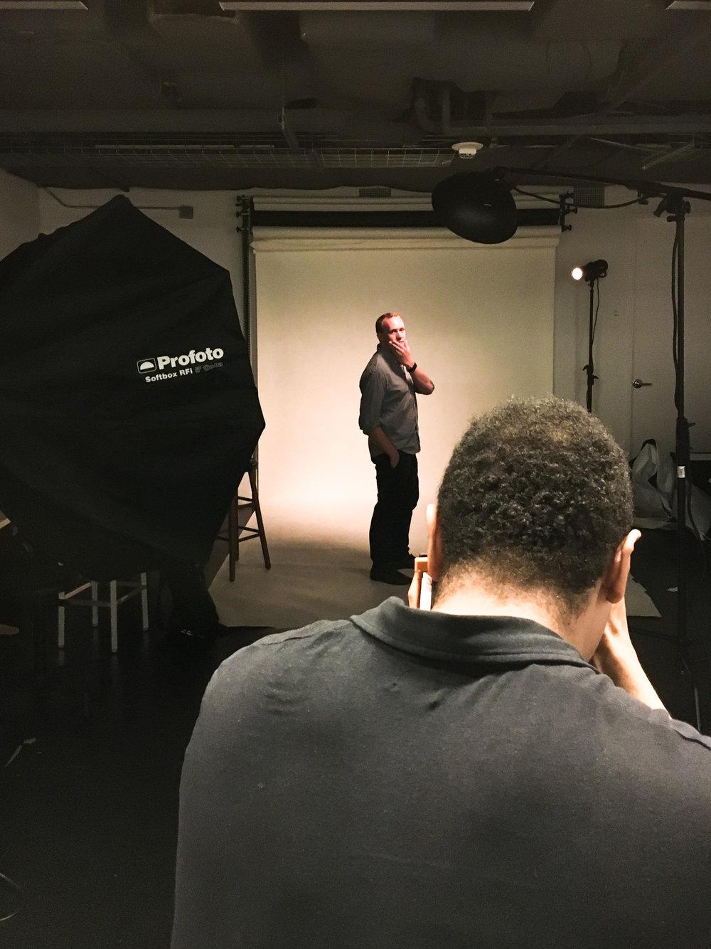 Marvin Joseph (@king_marvino) photographing Austin Graff (@austinkgraff)