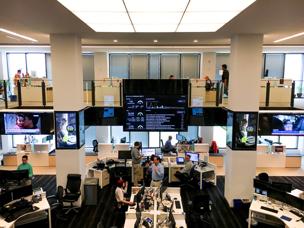"""The Hub"" at Washington Post"