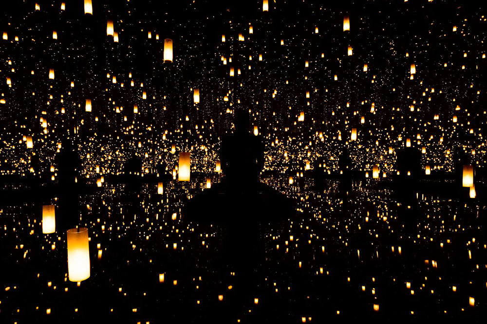 Infinity Mirrored Room — Aftermath of Obliteration of Eternity (my favorite)