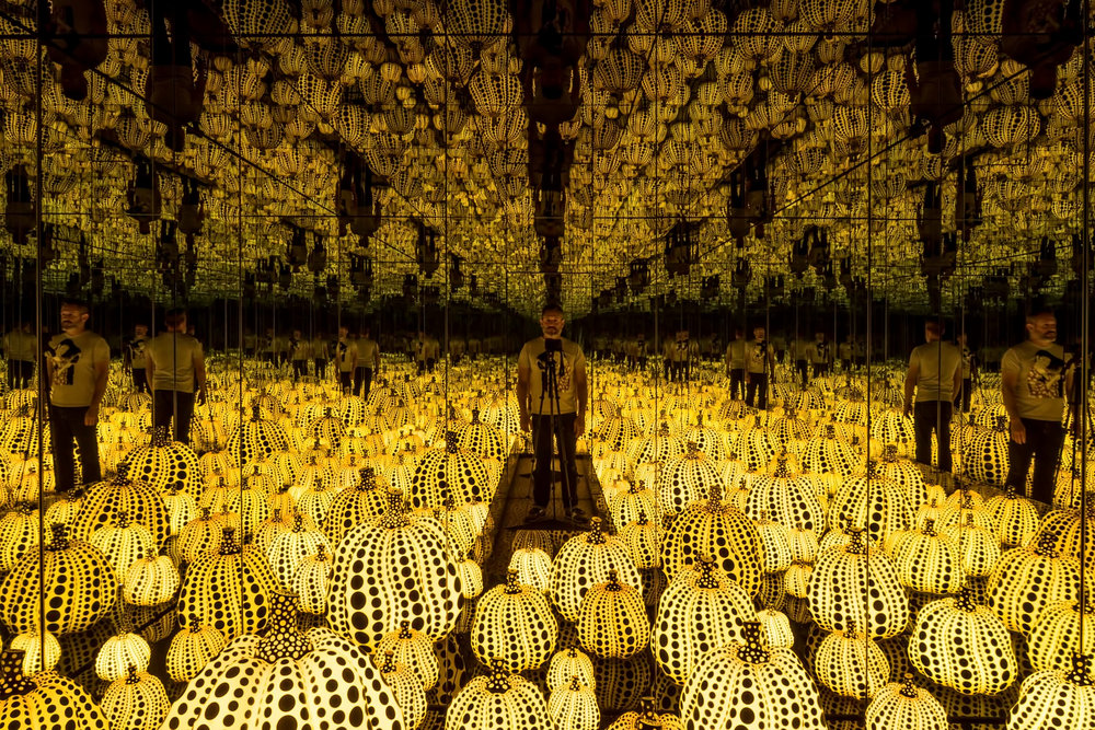 Infinity Mirrored Room — All the Eternal Love I have for the Pumpkins