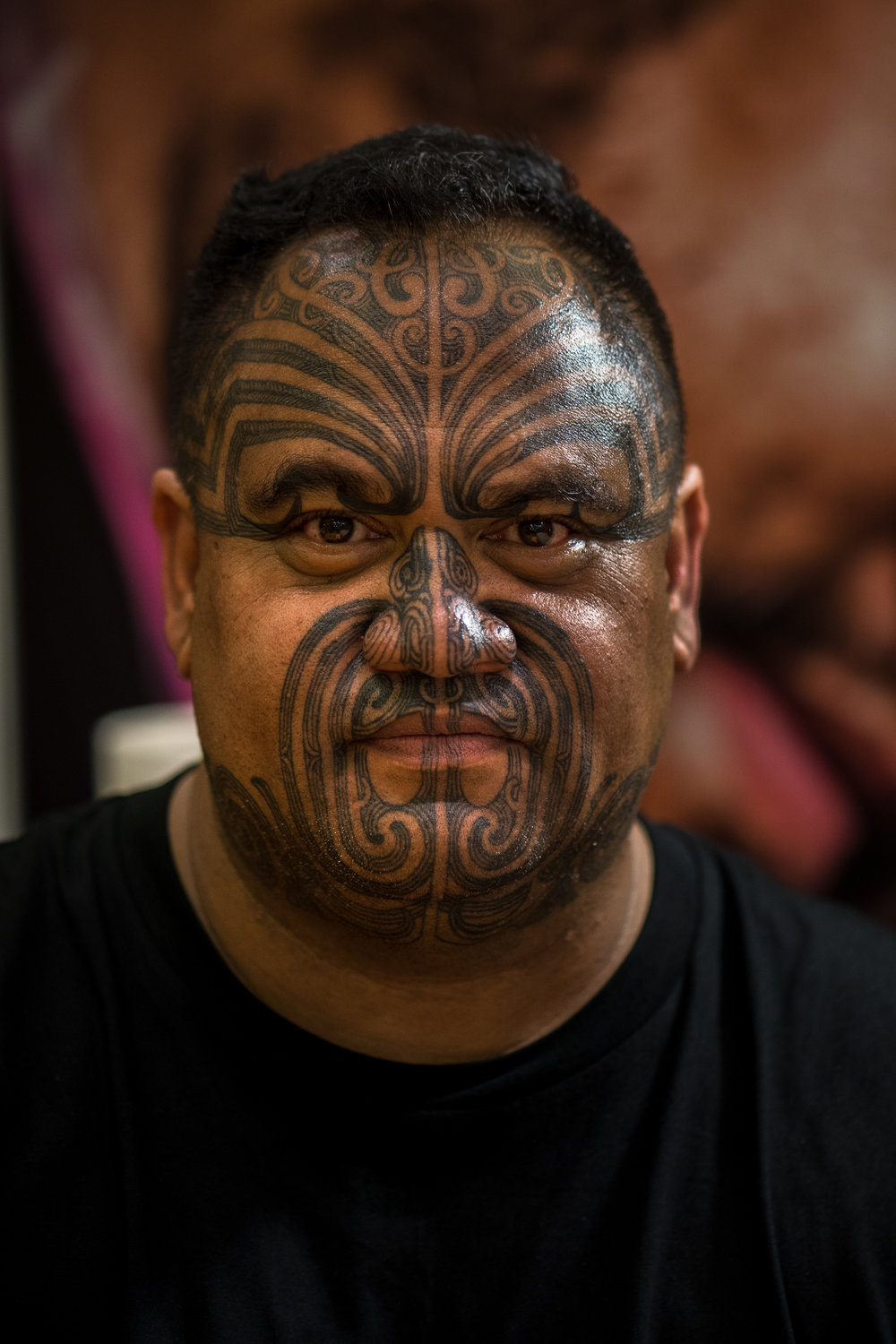 Katz Maihi , Māori designer, carver, and tattoo artist.