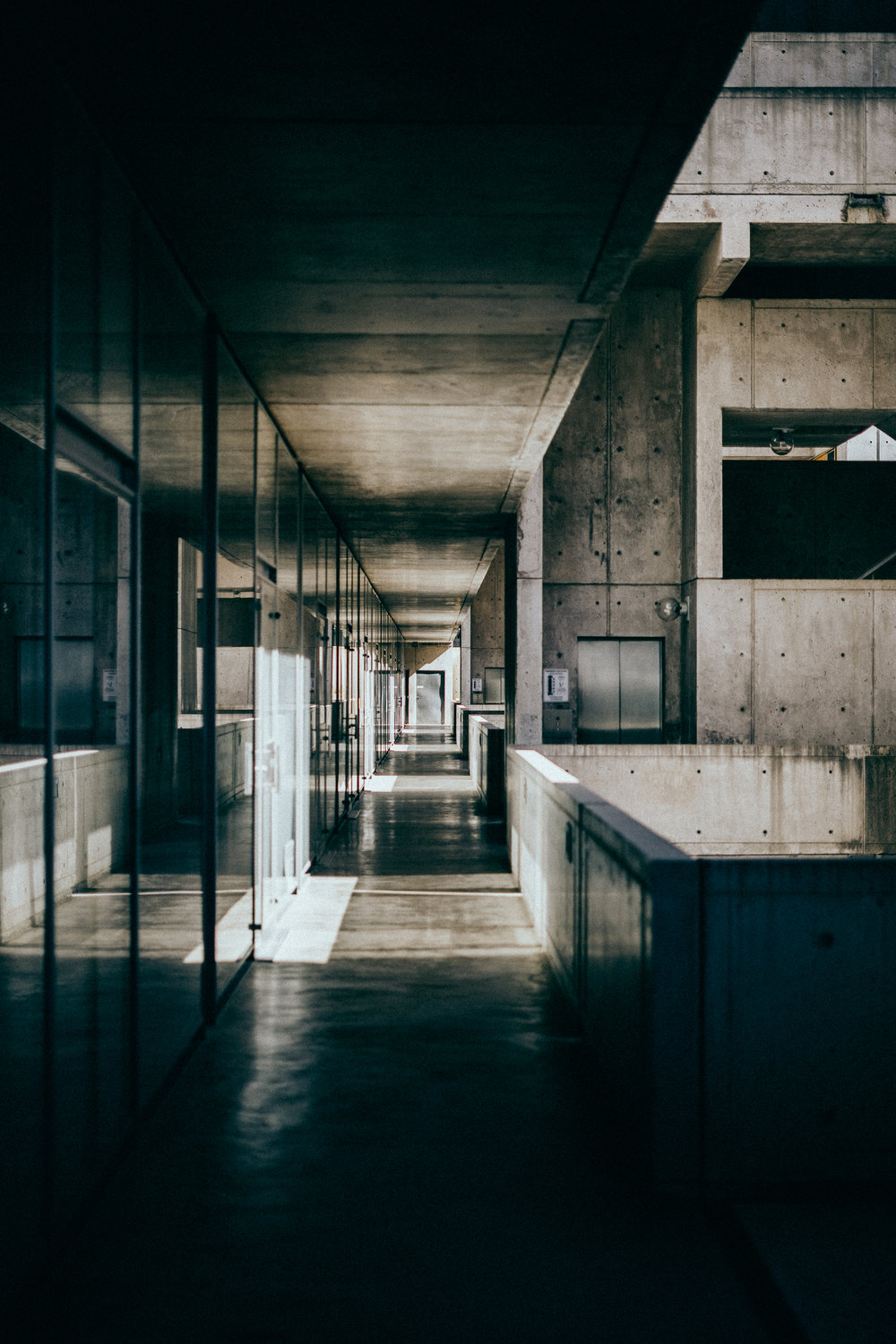 Personal work shot at the  Salk Institute , La Jolla, CA.