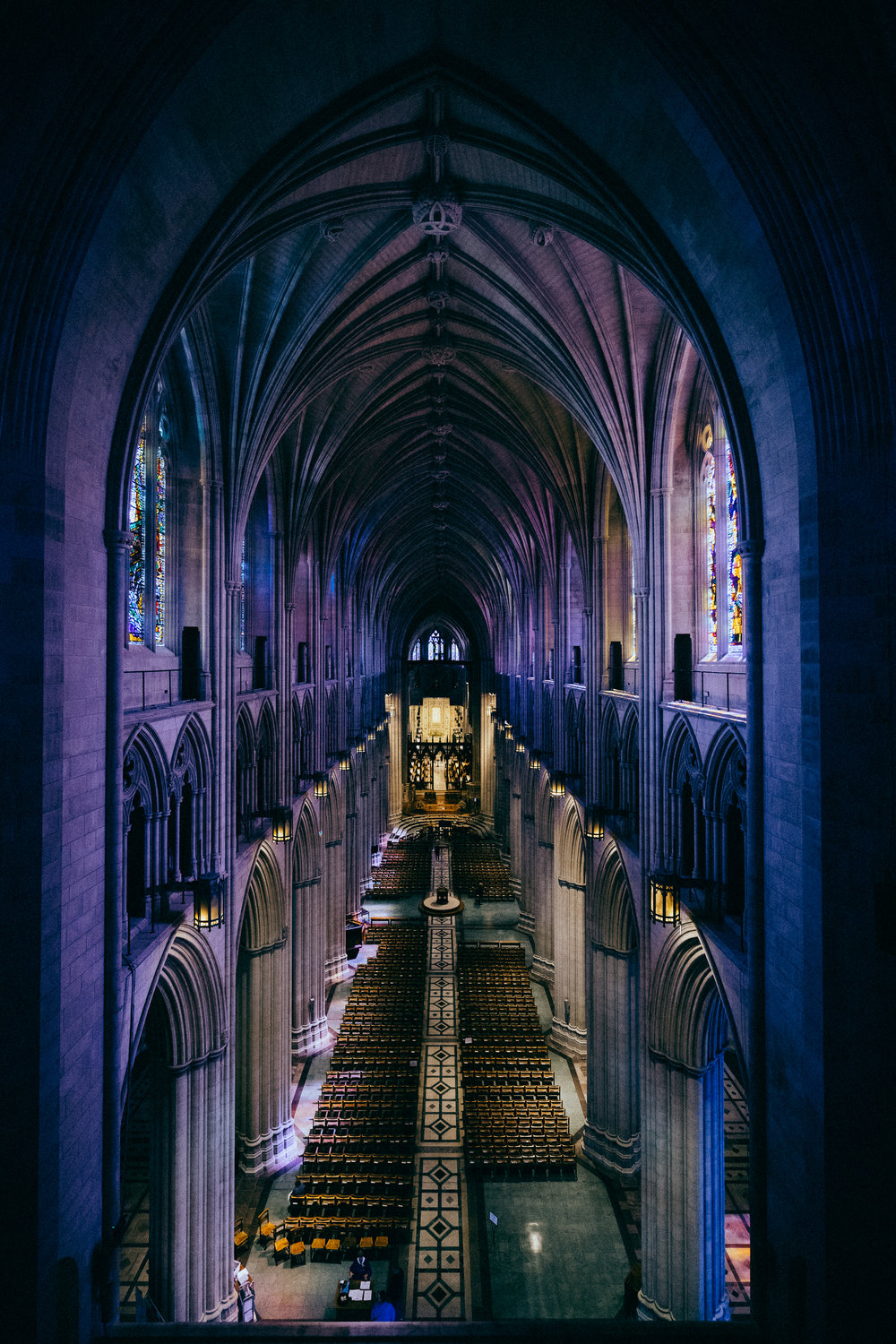 Personal work shot at the  National Cathedral .