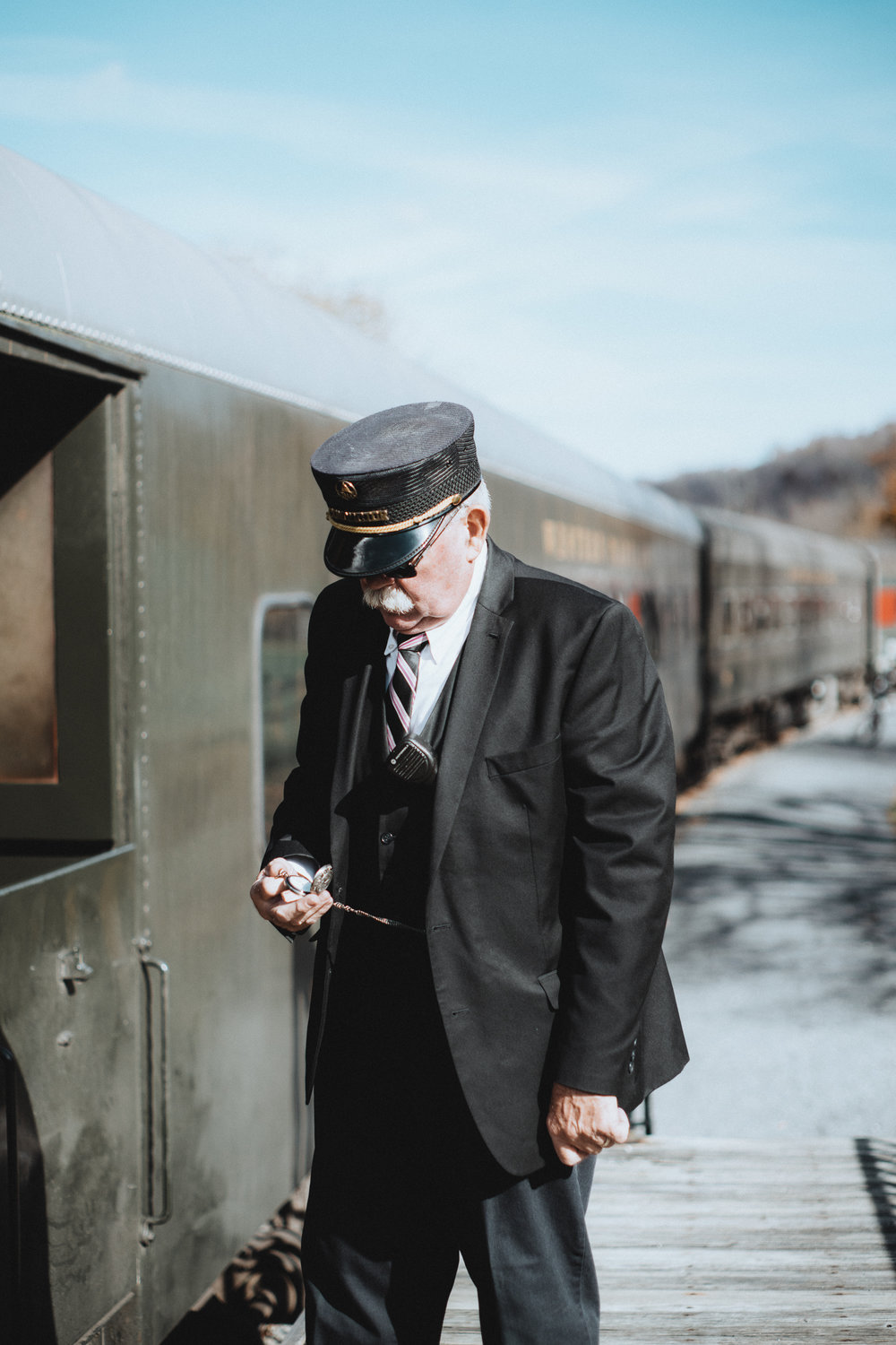 Personal work shot on the  Western Maryland Scenic Railroad , in Frostburg, MD.