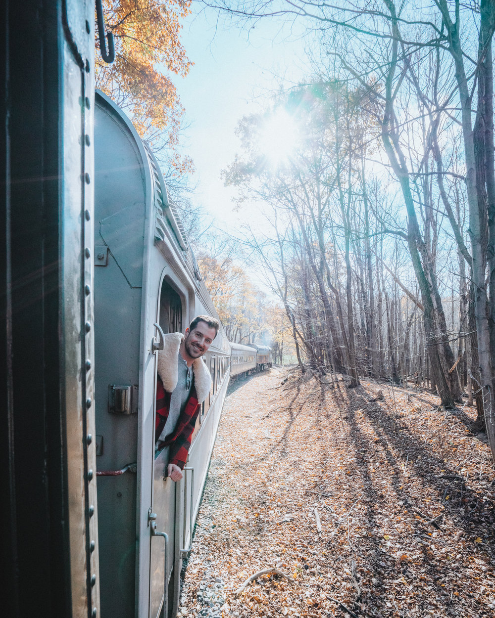 Personal work shot on the  Western Maryland Scenic Railroad , in Frostburg, MD, featurning  Nick .