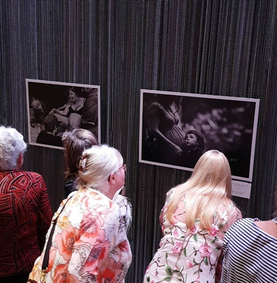 My Birth and Pregnancy photos exhibited at the awards. Photo credit: Laura Robertson