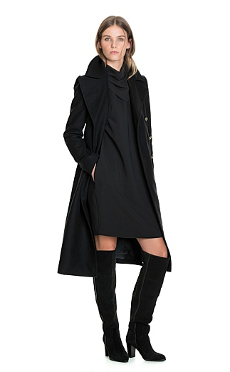 Country Road Military Button Coat