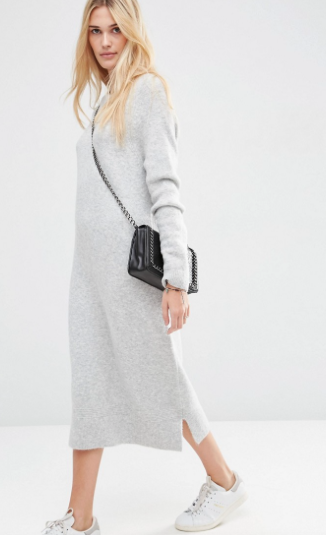 ASOS Midi Jumper Dress