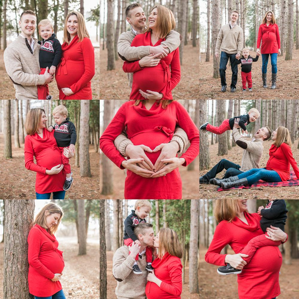 Vanessa Wyler Pewaukee Maternity Photography