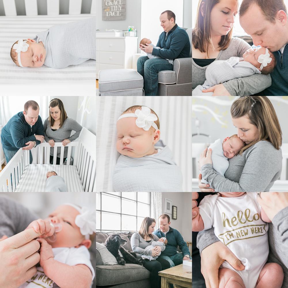 Lifestyle Newborn Photography Vanessa Wyler Pewaukee Wisconsin