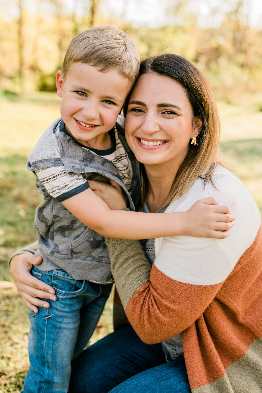 fall family photos waukesha vanessa wyler photography