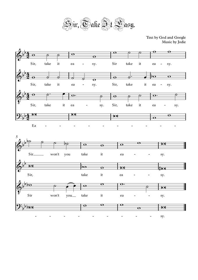 sir take it easy sheet music.jpg
