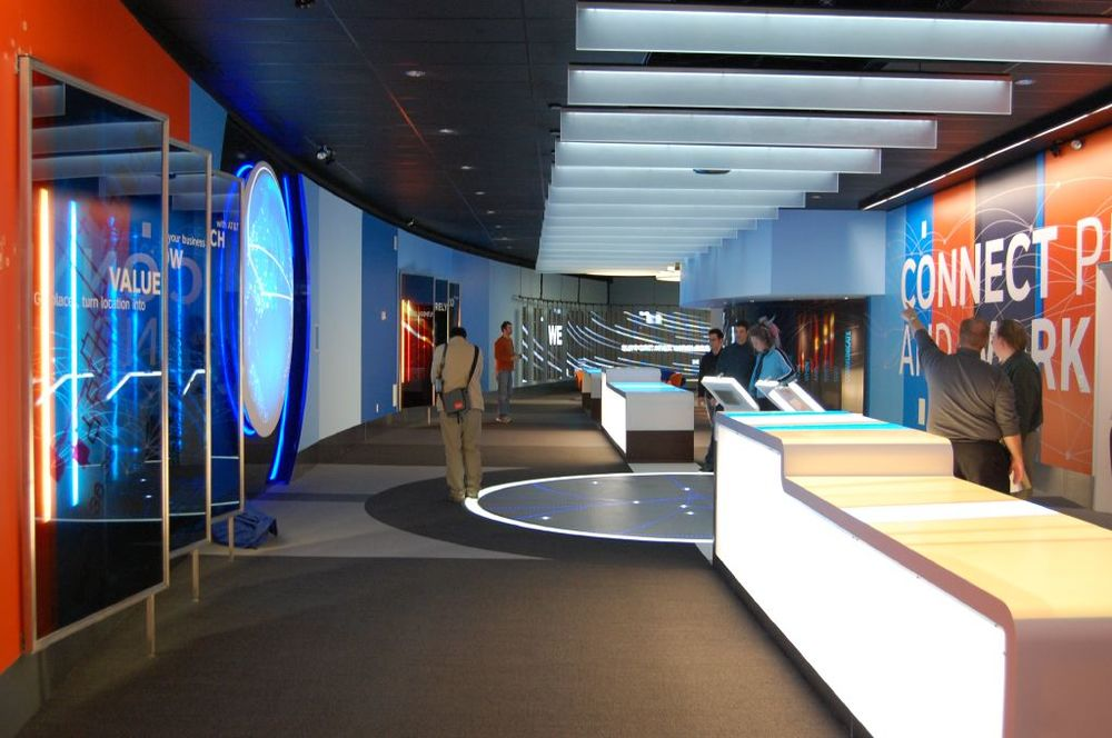 A dynamic visual environment communicates ATT innovations