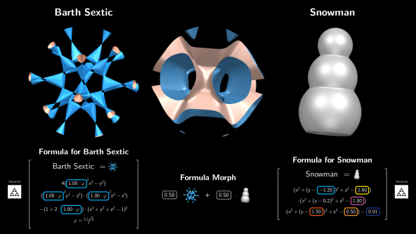 Formula Morph - Screen