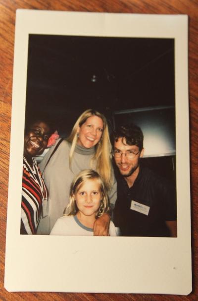 Latasha Wright (BioBus), Emily Conrad (Tessellate), and Ben Dubin-Thaler (BioBus)