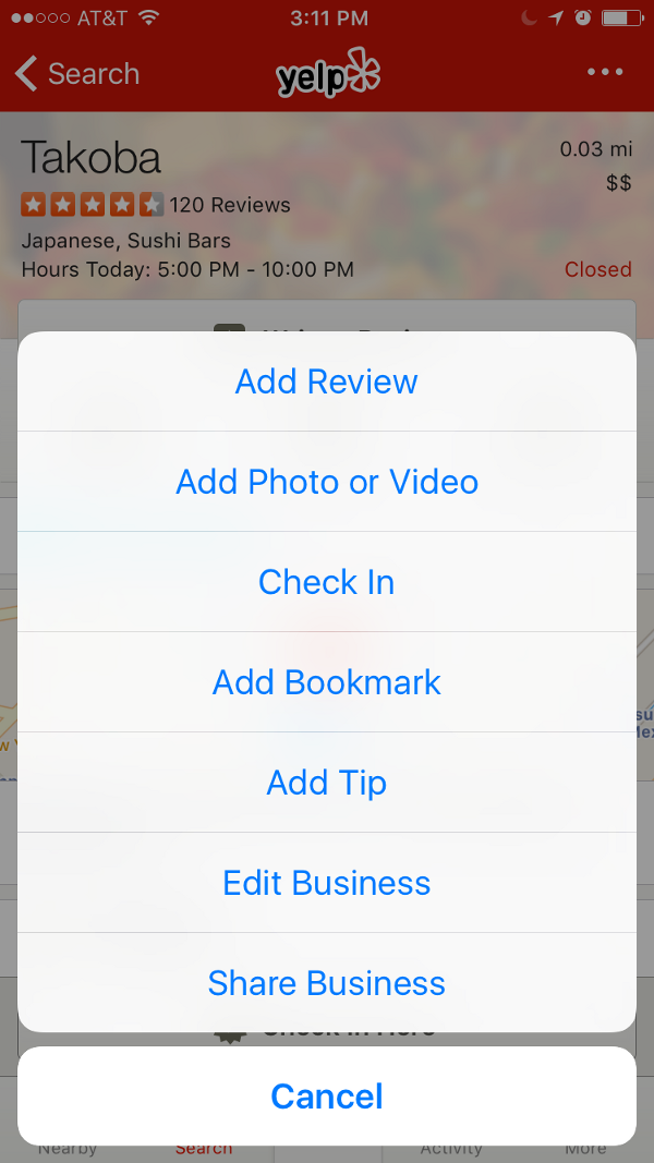 Current iOS UI for Sharing Function