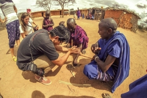 Immersive research in Kenya