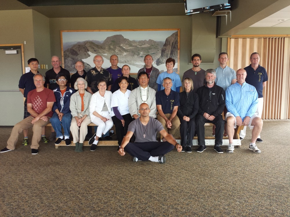 Casey at Master Henry Wang's 2015 Taiji Summer Camp