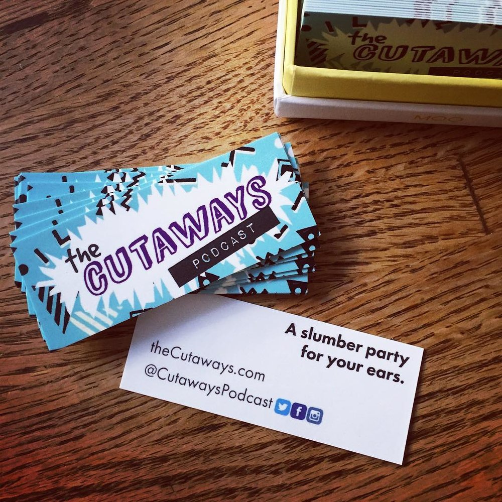 Our new business cards!