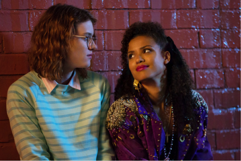 Yorkie and Kelly,  Black Mirror: San Junipero  (2016)