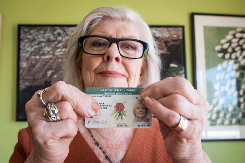 Christine Wright (80) Tim White