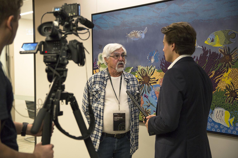 Deloitte Brisbane Offices, Indigenous Art Exhibition Curation — Art