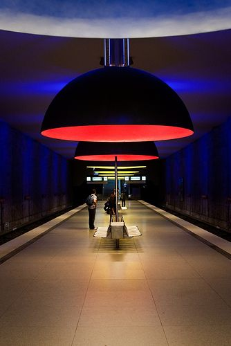 Westfriedhof Metro Station, Munich