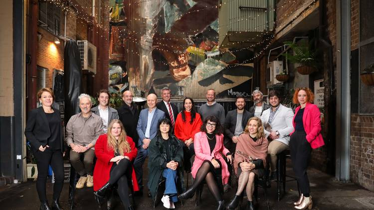Photograph: Katherine Griffiths // Members of Sydney's Nightlife and Creative Sector Advisory Panel